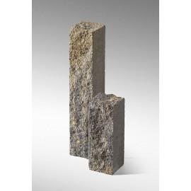 Palisada łupana 22 cm szaro-piaskowy