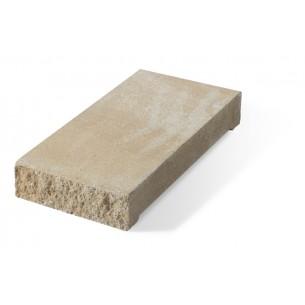 Daszek słupkowy E16 płaski - piaskowy