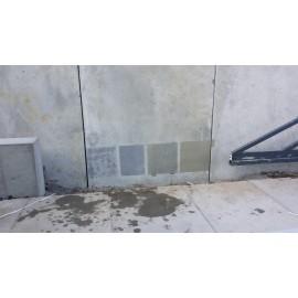 wykończenie powierzchni betonu środkiem MC-POWERTOP F fine w różnych odcieniach