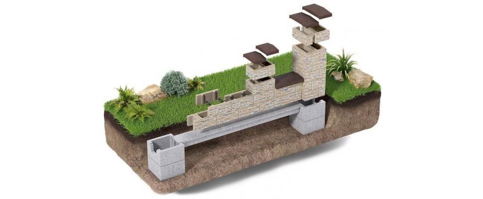 Ogrodzenia betonowe, płoty betonowe